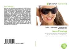 Capa do livro de Nose Piercing