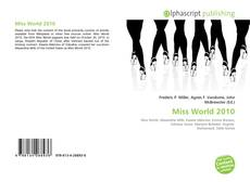 Обложка Miss World 2010