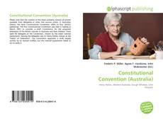 Couverture de Constitutional Convention (Australia)