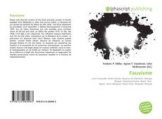 Bookcover of Fauvisme