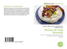 Portada del libro de Minister for Trade (Australia)