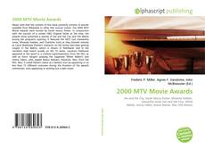 Bookcover of 2000 MTV Movie Awards