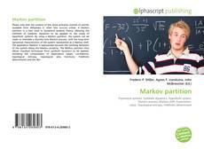 Capa do livro de Markov partition