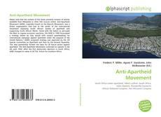 Bookcover of Anti-Apartheid Movement