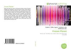 Bookcover of Frozen Planet