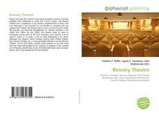 Copertina di Bowery Theatre