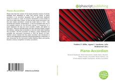 Bookcover of Piano Accordion
