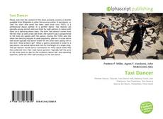 Bookcover of Taxi Dancer