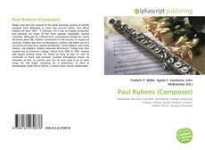 Bookcover of Paul Rubens (Composer)
