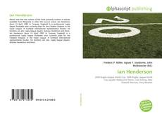 Bookcover of Ian Henderson