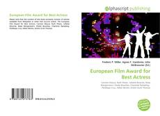 Bookcover of European Film Award for Best Actress