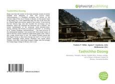 Capa do livro de Tashichho Dzong