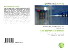 Bookcover of Abo Elementary School