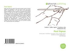 Portada del libro de Paul Signac