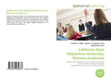 Couverture de California State Polytechnic University, Pomona academics