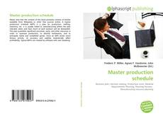 Portada del libro de Master production schedule