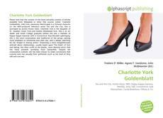 Bookcover of Charlotte York Goldenblatt
