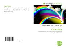 Bookcover of Clare Nasir
