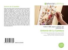 Capa do livro de Antonio de La Gandara