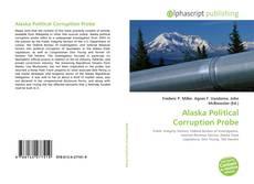 Buchcover von Alaska Political Corruption Probe