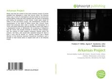 Portada del libro de Arkansas Project