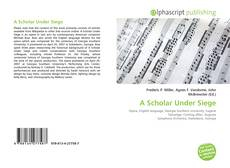 A Scholar Under Siege kitap kapağı