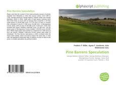 Buchcover von Pine Barrens Speculation