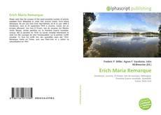 Buchcover von Erich Maria Remarque