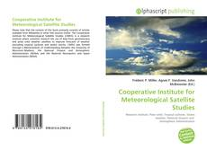 Copertina di Cooperative Institute for Meteorological Satellite Studies