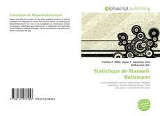 Couverture de Statistique de Maxwell-Boltzmann