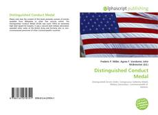 Обложка Distinguished Conduct Medal