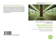 Copertina di Mass Rapid Transit System (Chennai)