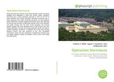 Buchcover von Operation Dormouse