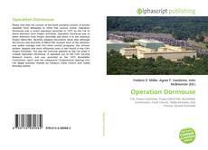 Borítókép a  Operation Dormouse - hoz