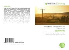 Portada del libro de Jean Broc