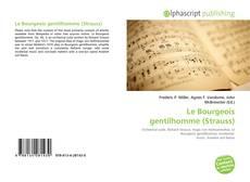 Borítókép a  Le Bourgeois gentilhomme (Strauss) - hoz