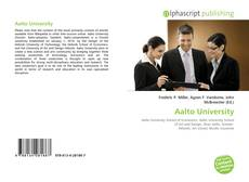 Bookcover of Aalto University