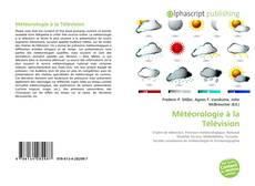 Обложка Météorologie à la Télévision