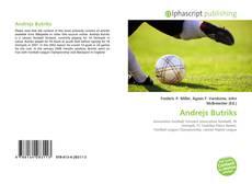 Andrejs Butriks kitap kapağı