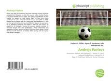 Andrejs Pavlovs kitap kapağı