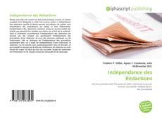 Capa do livro de Indépendance des Rédactions