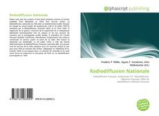 Copertina di Radiodiffusion Nationale