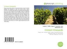 Copertina di Cristom Vineyards