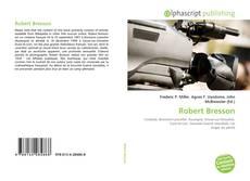 Robert Bresson的封面