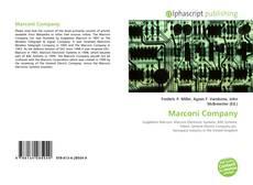 Bookcover of Marconi Company