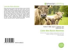 Portada del libro de Liste des Races Bovines