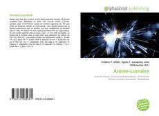 Année-Lumière的封面