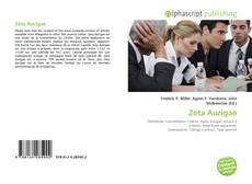 Bookcover of Zeta Aurigae