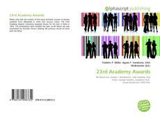 Обложка 23rd Academy Awards
