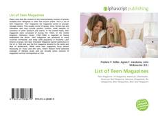 Bookcover of List of Teen Magazines